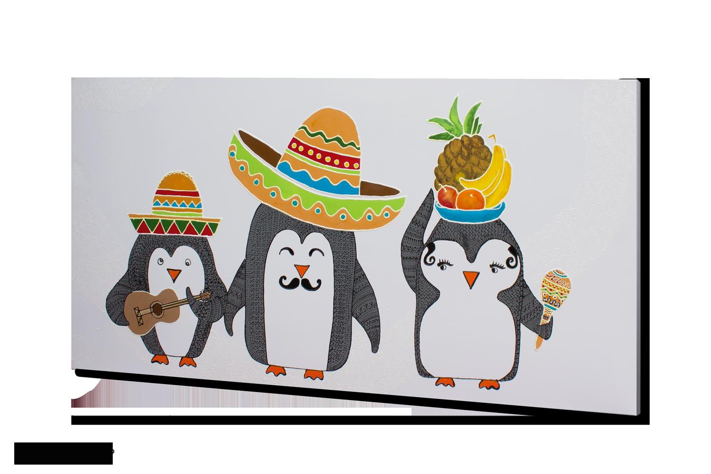 Dizajn - Mehiski pingvini